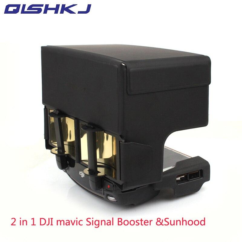 font b 2 b font in 1 Antenna Range Extender Remote Controller Sunhood Sunshade Enhance