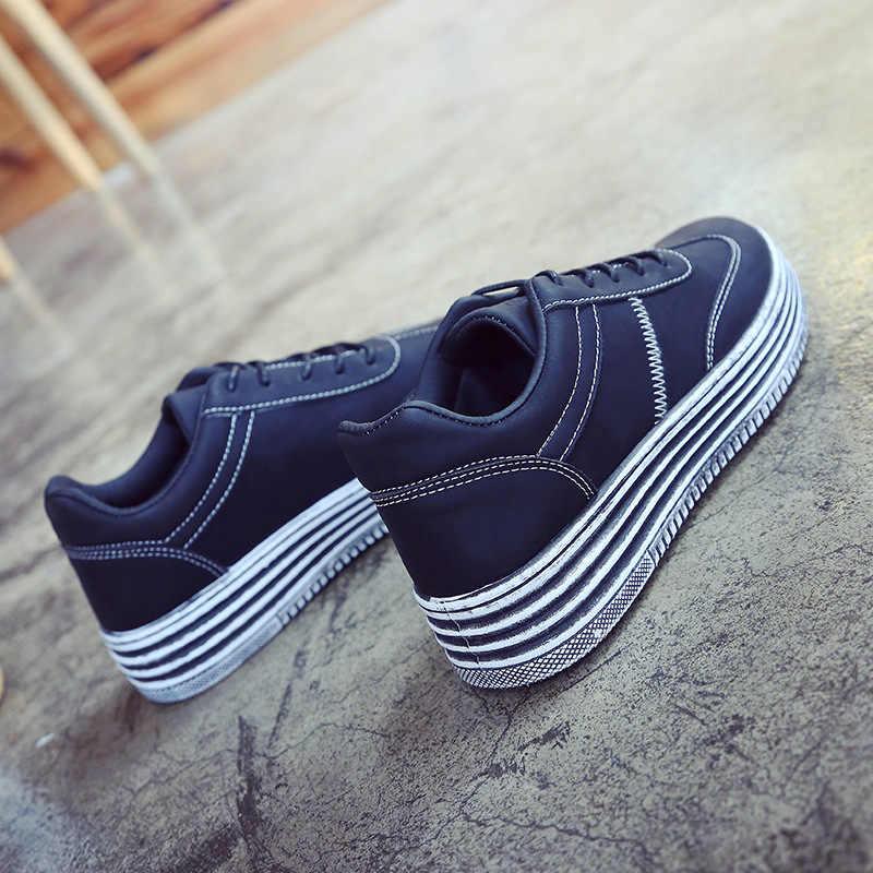 Mulheres de Skate Sapatos Sapatos de Desporto 2018 Tênis Atlético Ao Ar Livre Peso Leve Confortável Respirável de Alta Qualidade Sapatos de Mulher