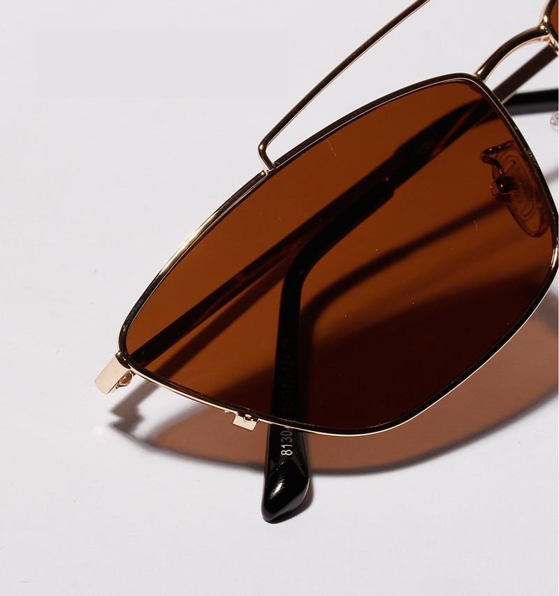 ladies cats eye sunglasses green lens detail (3)