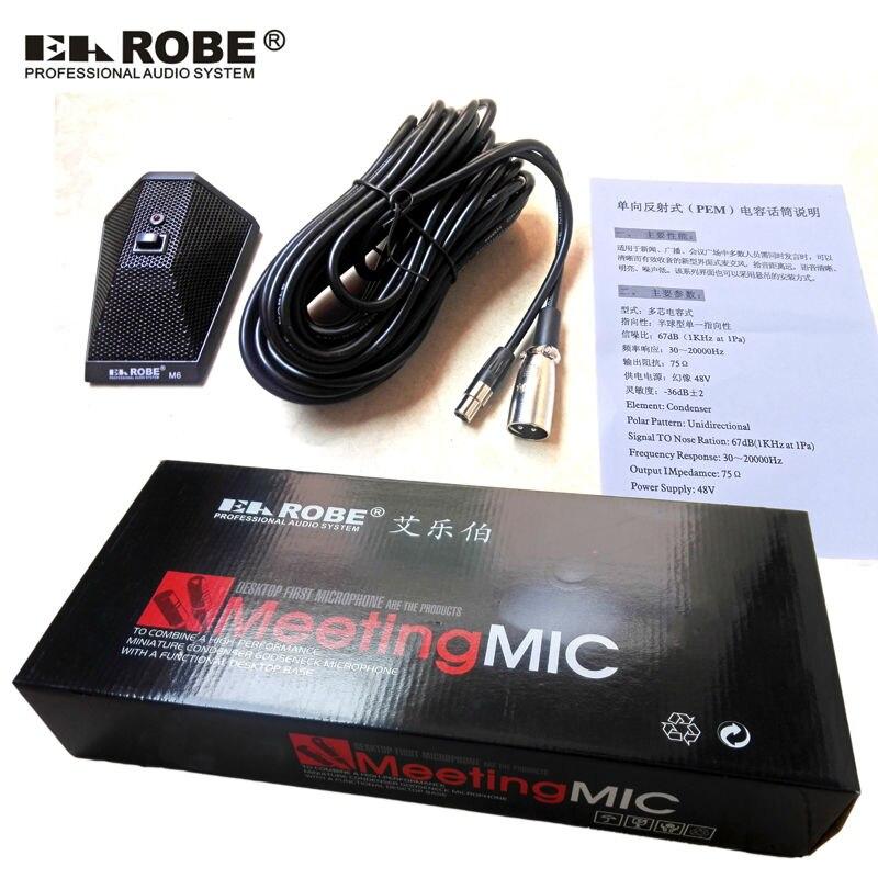 Micrófono de límite de micrófono de interfaz EAROBE M6 original - Audio y video portátil - foto 6