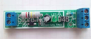 1 Road 220V AC Optocoupler Module /220V Optocoupler Isolation / Detection Of 220V Voltage Is No / Can Be Connected With PLC