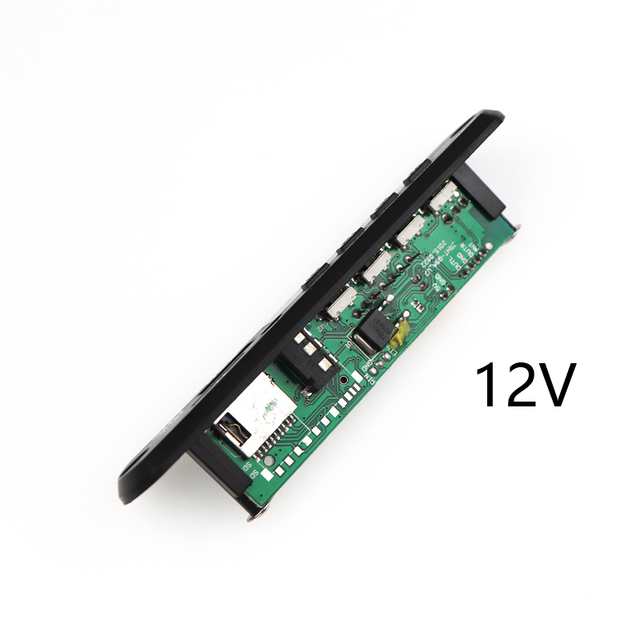 Car USB MP3 Player MP3 Decoder Board Module DC 5V 12V Power Supply with Remote Control USB FM Radio Aux Radio for Music Speaker