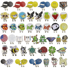 Golf Ball Mark with Golf Hat Clip Magnetic Outdoor Alloy
