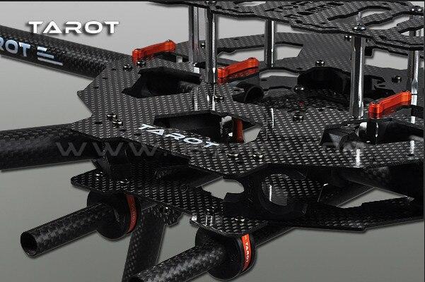 TAROT 6 Axis IRON MAN FY690S z włókna węglowego 3 K składany Hexacopter zestaw ze szkieletem FPV TL68C01 w Części i akcesoria od Zabawki i hobby na  Grupa 3