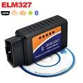 Hot Sale ELM 327 V2.1 Interface Works On Android Torque Elm327 Bluetooth OBD2/OBD II/OBD 2  Diagnostic Tool Car Scanner