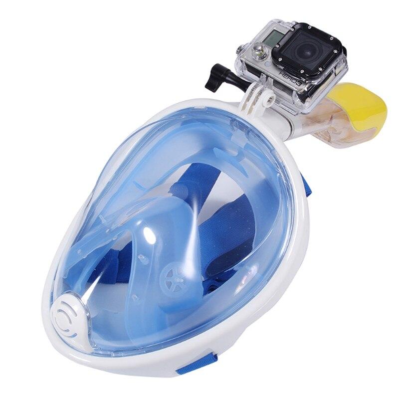Plein Visage Avec Tuba Masque de Plongée Ensemble Anti Brouillard Tuba Sucba Étude Équipement De Natation mergulho Maske