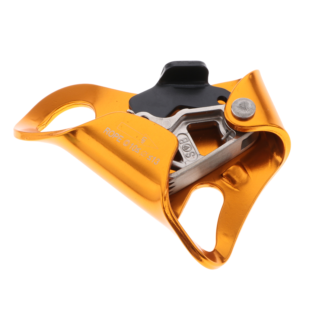 10kn 10kN / 100kg Hand Ascender with Free Decal for Outdoors Tree Rock Climbing Mountaineering Climbing Caving Accessories