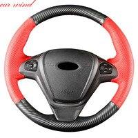 Автомобильный ветер крышка рулевого колеса для Ford focus 3 bmw x5 e53 volkswagen golf 7 mazda CX 5 nissan almera n16 passat b8 Поло Крышка рулевого колеса
