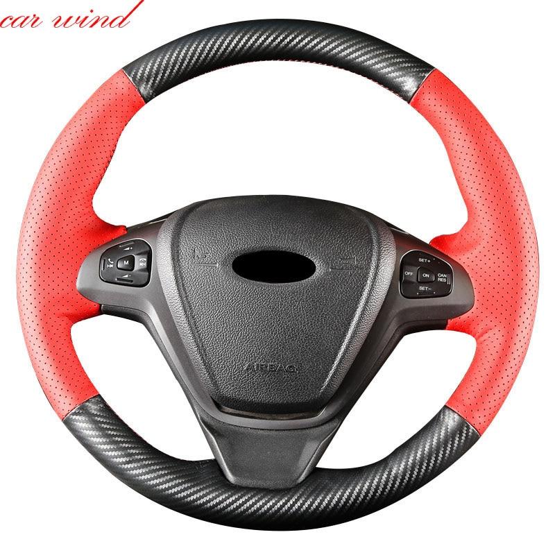 Car Wind steering wheel cover For focus 3 bmw x5 e53 volkswagen golf 7 mazda cx-5 nissan almera n16 passat b8 polo wheel cover