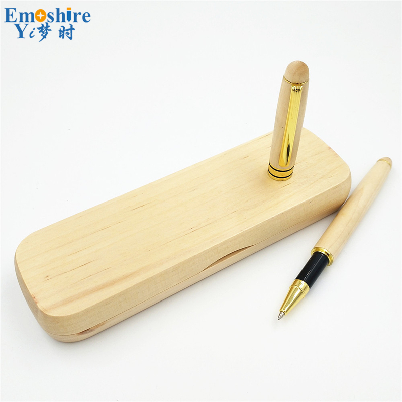 Hot Unique Design Roller Ball Pens Ballpoint Pens With Pencil Cases Top Quality School Office Stationery for Lady Gifts P114 roller ball pens ballpoint pens with fountain pens gifts sets business gifts for company meeting best wooden stationery p113
