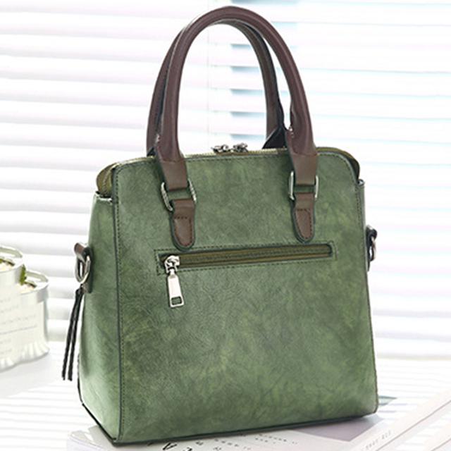 Vintage PU Lederen Dames Handtassen Vrouwen Messenger Bags TotesTassel Designer Crossbody Schoudertas Boston Hand Bags Hot Koop