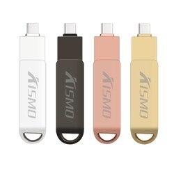 Kismo 3 w 1 typu C USB flash 16 napęd gb 32 gb 64 gb USB3.0 pendrive OTG Pen Drive dla samsung S6 S7 S8 S9 A3 A5 A7 J3 J5 J7