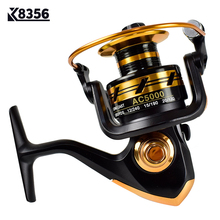 K8356 Fishing Spinning Reel Rotate Line Fishing Reel 5.5:1 Casting Fish Coils Winter Sea Pole Fishing Wheel 2000/3000/4000/5000