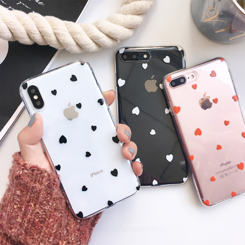 Aliexpress.com : Buy Little love heart pained phone Cases