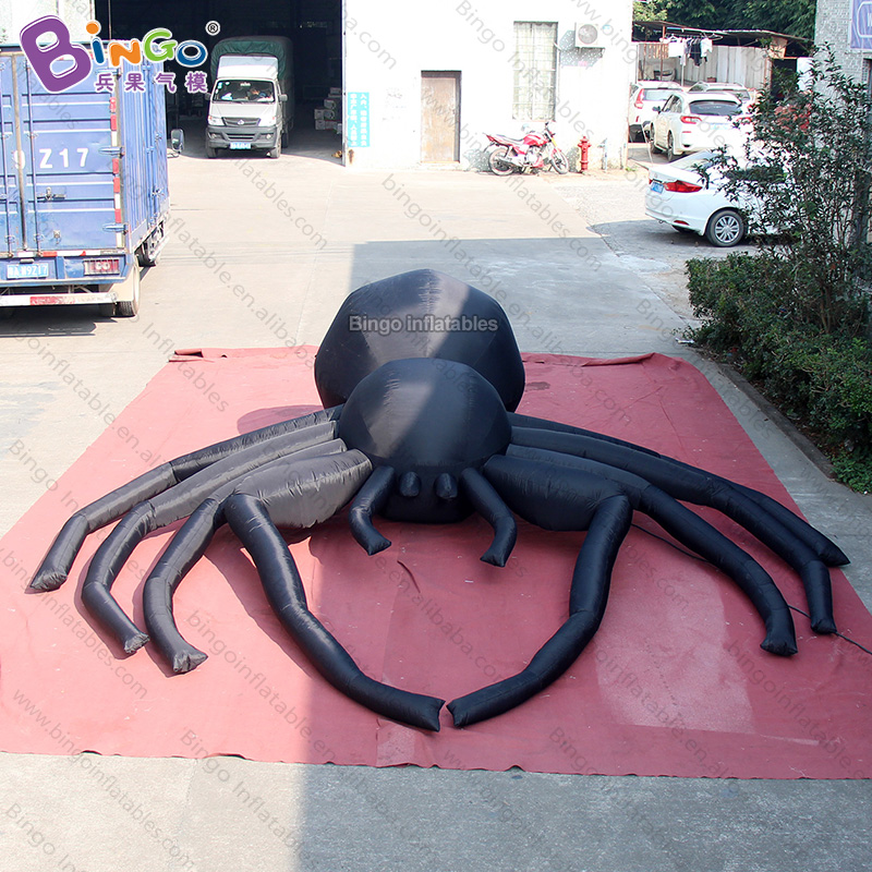 Personalized 5.5X5 meters big halloween inflatable spider promotional large spider inflatables for decoration toysPersonalized 5.5X5 meters big halloween inflatable spider promotional large spider inflatables for decoration toys