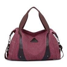 ZENTEII Frauen Retro Vintage Leinwand Handtasche Schultertasche