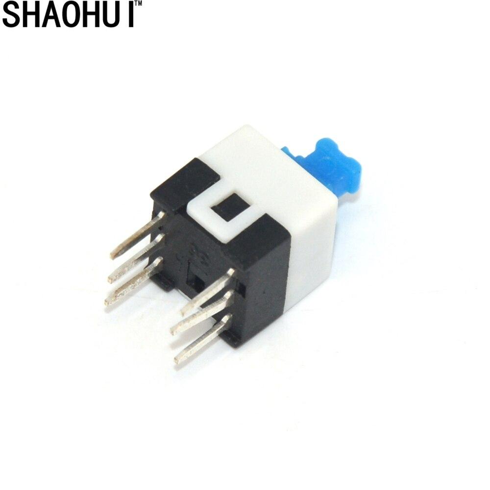 50 STÜCKE 6 Pin Platz 7mm x 7mm Neue Produkt DPDT Mini Taster ...