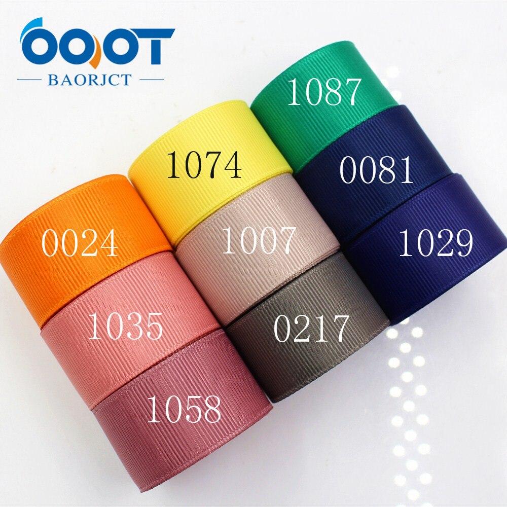 Ooot baorjct 176068 25 мм 10 двор Твердые Цвет ленты Термальность передачи печатных grosgrain Свадебные аксессуары поделки ручной работы материал