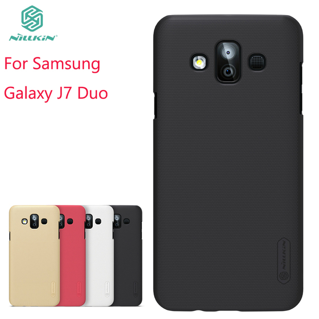 new product f7373 6b7c2 US $7.99 10% OFF|For Samsung Galaxy J7 Duo Case Cover Pc Case For Samsung  Galaxy J7 Duo Fitted Cases Super Frosted Shield For Samsung J7 Duo-in  Fitted ...