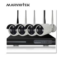4CH CCTV Camera System Outdoor Waterproof ip camera wifi nvr Kit P2P Wireless Security Camera System 1080p Surveillance DVR kits