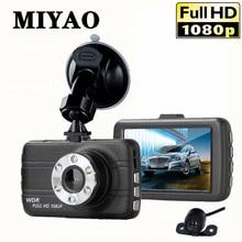 MIYAO Mini Dash Cam Car Camera Recorder Car DVR Dash Camera 170 Degree Single/double Lens Full HD 1080P Night Vision Dashcam цена