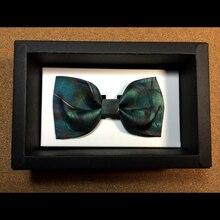 New Arrival Gentlemen Bow ties Fashion Brand print tie Mens Tuxedo Dress Bowtie business Party bowTie Suit accessories