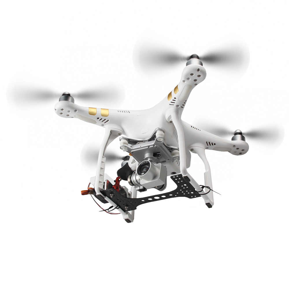 Payload Drop Back Fishing Delivery Release Servo for DJI Phantom 3 4 Drone//Plane