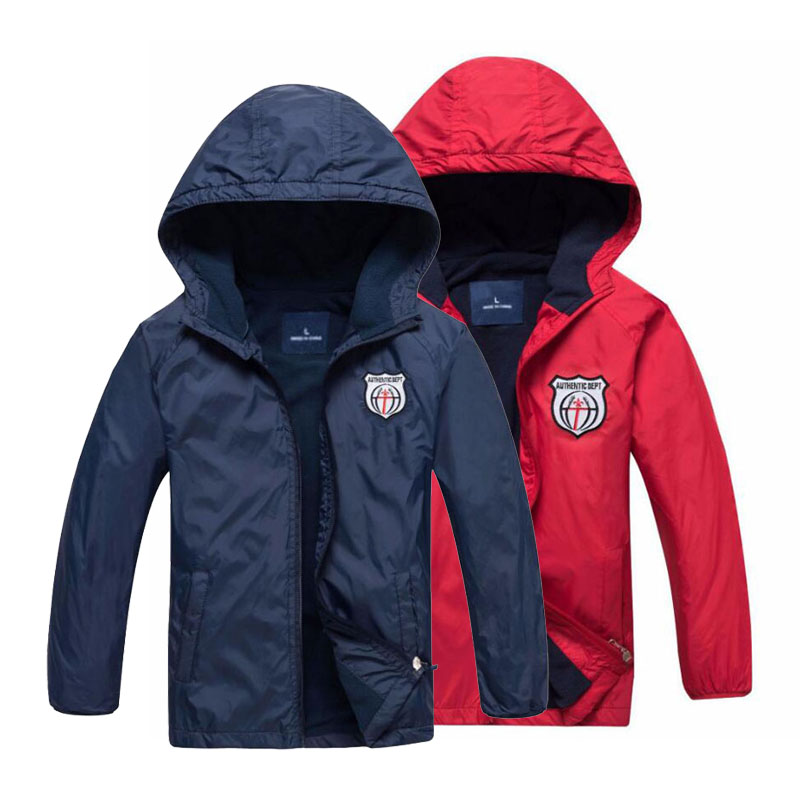 New 2019 Fashion Children's Boys/Girls Fleece Jacket Kids Coat Hoodies Windbreakers Boys Sport Jackets 3-12T For Spring Autumn