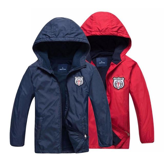 Новинка 2019 года, модная детская флисовая куртка для мальчиков и девочек, Детское пальто с капюшоном, ветровки, спортивные куртки для мальчиков, От 3 до 12 лет на весну-осень