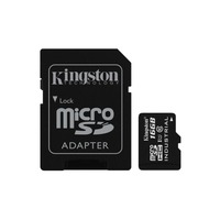 Kingston Technology SDCIT/16GB, 16 GB, MicroSDHC, Class 10, UHS I, 90 MB/s, Black