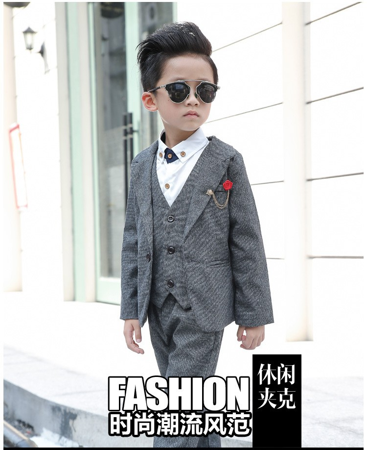 24f107a8e Newest Children Suit Baby Boys Suits Kids Blazer Boys Formal Suit ...