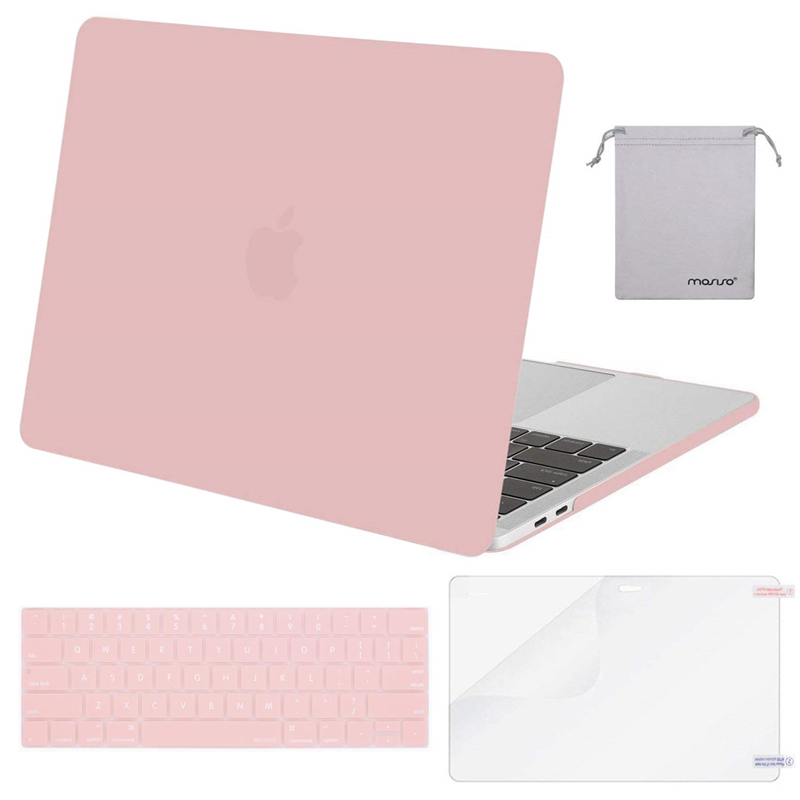 Image 2 - MOSISO Crystal Hard Case For Macbook Air 13 New 2018 Retina Pro 13 15 with/out Touch Bar Model A1706 A1707 A1990 AIR 13 A1932-in Laptop Bags & Cases from Computer & Office