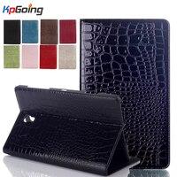 Luxury High Quality Crocodile Pu Leather Case For Samsung Galaxy Tab S T700 Fundas Flip Stand