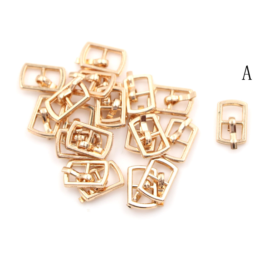 3/10PCS 4.5mm Mini Buckle DIY Patchwork Buckle For Dolls Clothing Adjustable Accessories Handmade Sewing 22