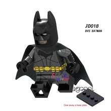 1PCS model building blocks action figures superhero BVS Batman The Dark Knight big movie Series Doll diy toys for children gift(China)