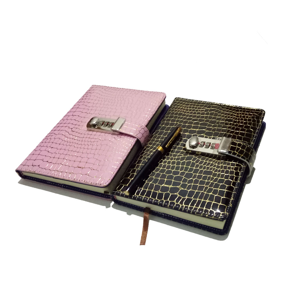 все цены на NEW Leather notebook with Lock code Personal Diary Business thick Notepad 100 sheets paper office school supplies gift