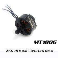 4PCS Lot EMAX MT 1806 2280KV CW CCW Motor For 250 Mini Multicopter FPV Quadcopter Four