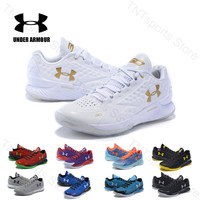 Under Armour Shoes UA CURRY ONE 1 Sport Breathable Basketball Shoes For Male Outdoor Athletic Cushioning Sneakers