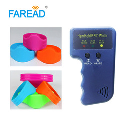 1 шт. копировальный аппарат + бесплатная доставка 125 кГц TK4100/T5577/EM4100 EM4305 RFID браслет для билетной системы и жесткой среды 100 шт./партия