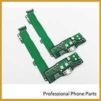 Original Micro Dock macho placa de conector puerto de carga USB flexible Cable para Nokia Microsoft Lumia 535 piezas de repuesto