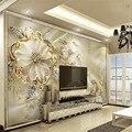 Обои и стеновые Панели, Мрамор Алмаз Ювелирные Изделия Роза Фон Современный Европейский Искусство Росписи для Гостиной Большая Картина Домашнего Декора