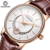 Для женщин часы марки OCHSTIN модные кварц часы Для женщин наручные часы relojes mujer платье женские часы Бизнес montre femme