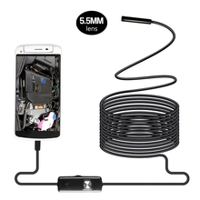 ZCF AN97 2in1 Android Endoscope 5.5mm Lens 6LED