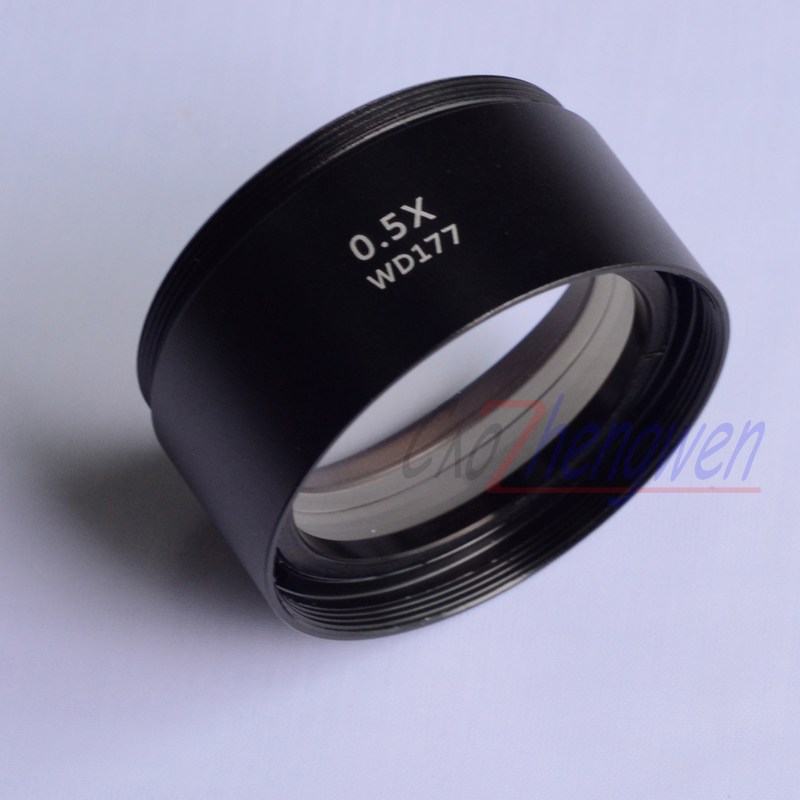 FYSCOPE SZM-0.5X AUXILIARY OBJECTIVE LENS FOR STEREO ZOOM MICROSCOPE WD 177mm купить в Москве 2019