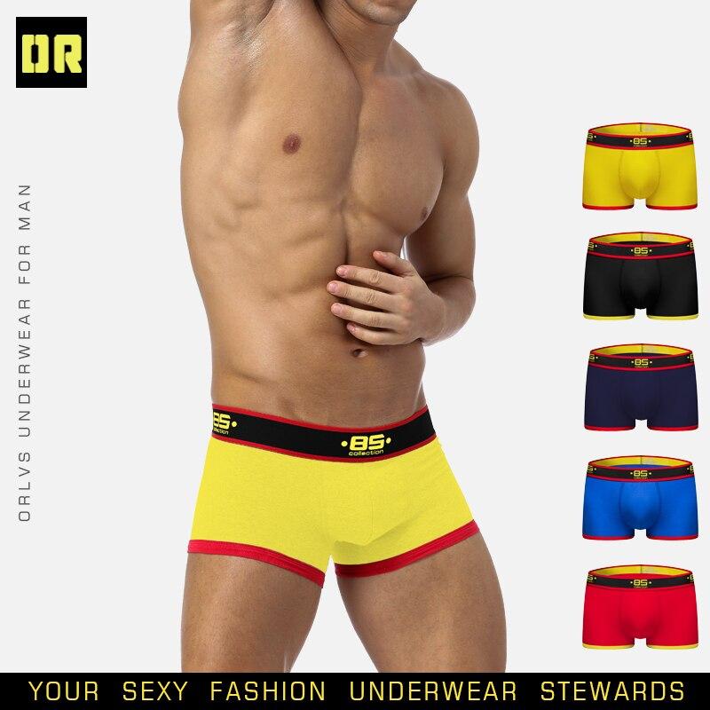 BS Brand Boxer Sexy Underwear Men gay men bikini slip homme hombre man pouch underwear male fashion man 2019 Underpants BS176
