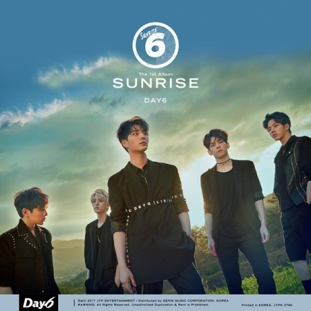 DAY6 1ST ALBUM - SUNRISE  Release Date 2017.06.08  kpop brown eyes girls 6th album basic release date 2015 11 10 kpop album