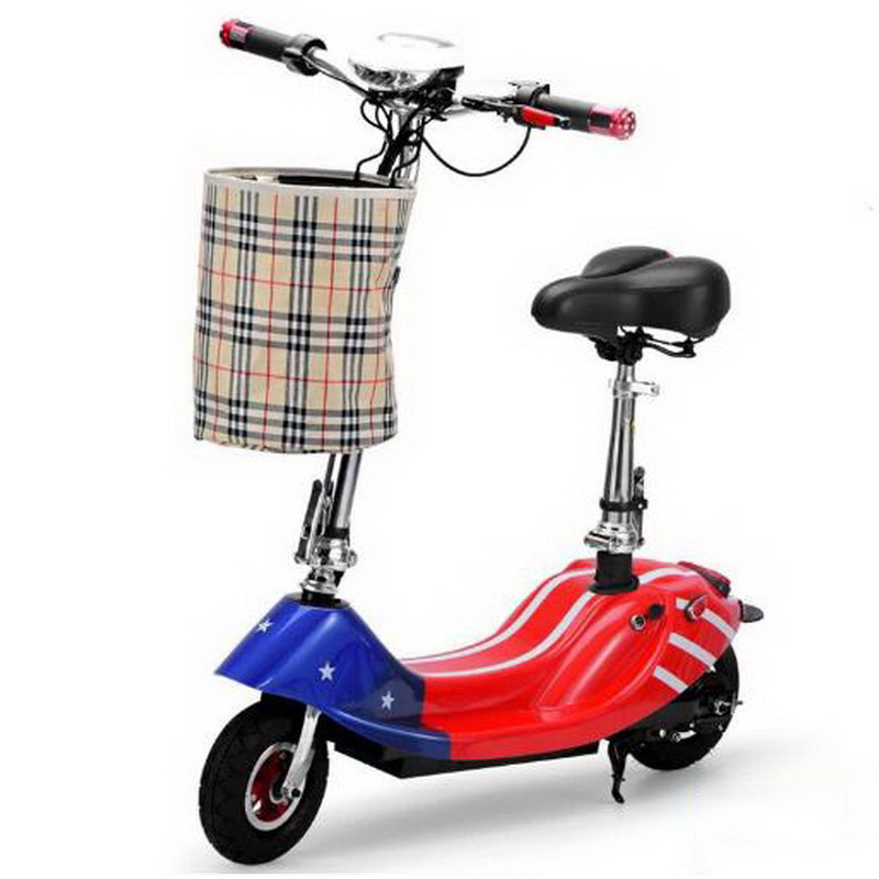 Sale 261002/Ladies portable mini dolphin electric scooter / can carry children electric bikes / electric cars/Comfortable cushion 1