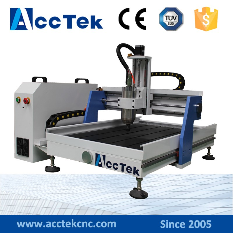 Hot sale mini desktop cnc machine/cnc 4 axis cnc router AKG6090 akg y 20u
