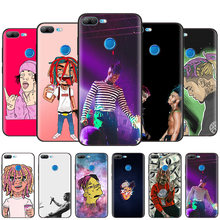 Black Silicone Case Bag Cover for Huawei Honor 10i Y7 Y6 Y5 Y9 8X 8C 8S 9 10 Lite Pro 2018 2019 Enjoy 9E 9S Lil Durk Hip Hop(China)