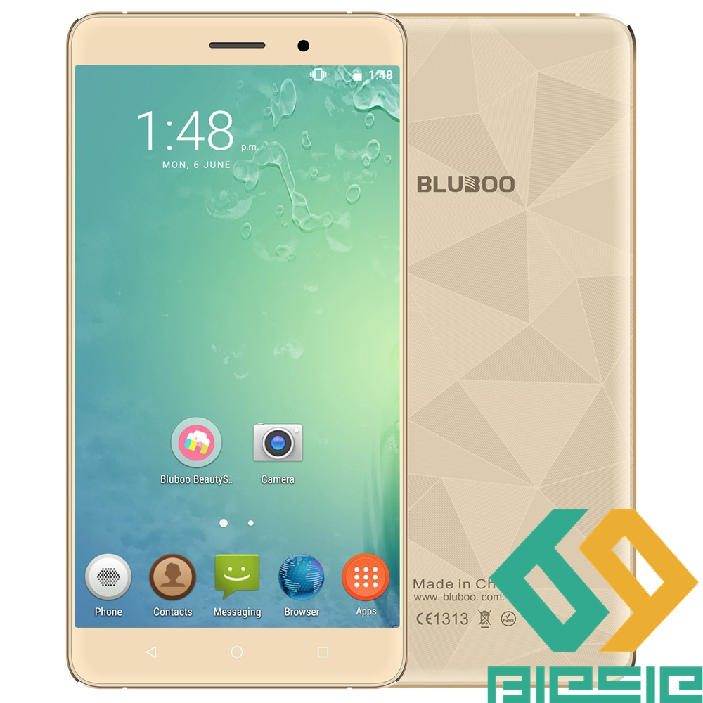 Цена за Bluboo Майя 3 Г Phablet Android 6.0 5.5 дюймов HD Экран MTK6580 Quad Core 1.3 ГГц 2 ГБ RAM 16 ГБ ROM Гравитация Датчик GPS Bluetooth 4.0